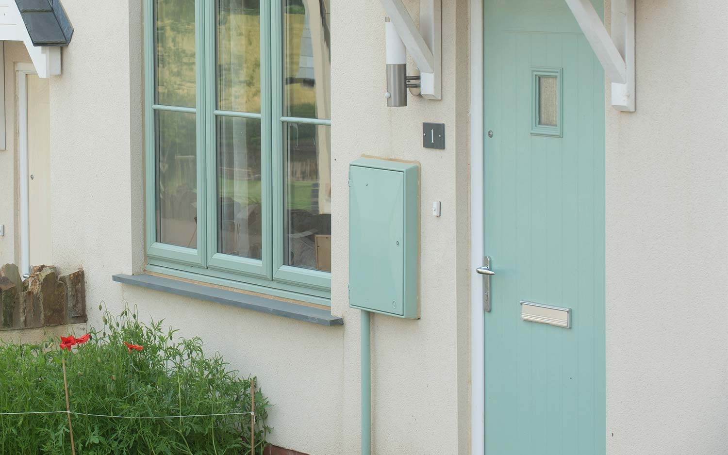 Spartan uPVC Front and Back Doors
