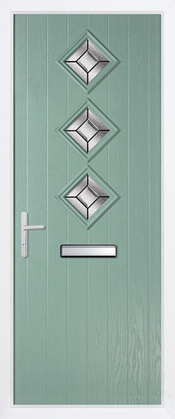 Contemporary Door - Oslo Chartwell Clear