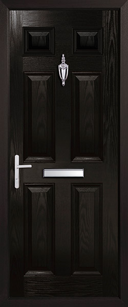 Solid Doors - Kent Black