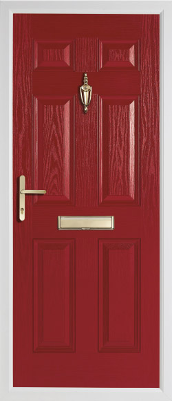 Solid Doors - Oak Solid Red